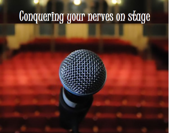 managing stage fright during speeches and presentations